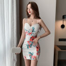 Dress Summer 2021 Decor S M L Short skirt singleton  Sleeveless V-neck High waist Decor Socket routine camisole 25-29 years old Type A Princess Jiao Luo printing mJDL15162 More than 95% other Other 100% Pure e-commerce (online only)