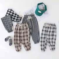 trousers female p1,p2,p3,p4,p5 Ninth pants Sports pants Cotton 95% polyurethane elastic fiber (spandex) 5% 18 months, 2 years old, 3 years old, 4 years old, 5 years old, 6 years old, 7 years old, 8 years old, 9 years old, 10 years old, 11 years old, 12 years old, 13 years old, 14 years old