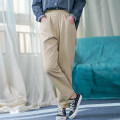 Casual pants Black Khaki milky white S M Spring 2021 trousers Straight pants Natural waist commute routine 51% (inclusive) - 70% (inclusive) Churou (clothing) cotton literature pocket Cotton 70% other 30% Pure e-commerce (online only)