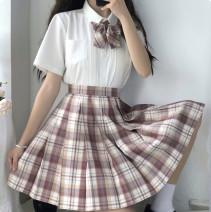 skirt Summer 2020 XS S M L XL Bill bear 42cm (30 day hair) Bill bear 45cm (30 day hair) Short skirt Natural waist 18-24 years old Bill bear Yan Muxi