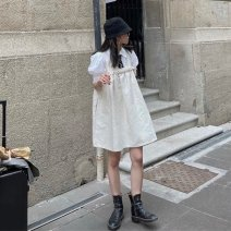Fashion suit Spring 2021 S M L White shirt + vest skirt 18-25 years old Shenmu (clothing) 96% and above polyester fiber Polyester 100% Pure e-commerce (online only)