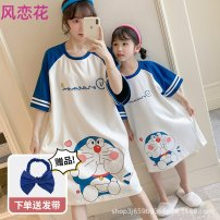 Apron suit 6001-16 6001-S 6001-M 6003-14 6001-8 6001-10 6001-12 6001-14 6001-L 6001-XL 6001-XXL 6002-8 6002-10 6002-12 6002-14 6002-16 6002-S 6002-M 6002-L 6002-XL 6002-XXL 6003-8 6003-10 6003-12 S Korean version The wind loves flowers