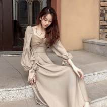 Wedding dress Spring 2021 Apricot S M L XL Korean version Long tail other other QYM2017-20201231-104 High waist 18-25 years old Bankeni Pure e-commerce (online only) Other 100% 96% and above