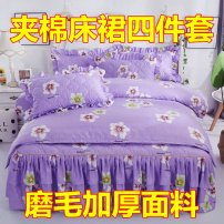 Bedding Set / four piece set / multi piece set Others other stripe 128x68 Other / other Others 4 pieces 60 Three pieces of 12m bed with cotton bed skirt, four pieces of 15m bed with cotton bed skirt, four pieces of 18x22m bed with cotton bed skirt, four pieces of 22m bed with cotton bed skirt Sanding