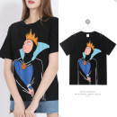 T-shirt Black 1523 S M L XL 2XL 3XL Summer 2021 Short sleeve Crew neck easy Regular routine commute cotton 96% and above Simplicity Magic Cartoon animation Diexiyi ppC3Fzrt_ b3job printing Cotton 100% Pure e-commerce (online only)