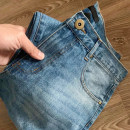 Jeans Fashion City Others 29,30,31,32 Denim blue routine Micro bomb trousers Other leisure Four seasons youth middle-waisted 2020 Straight foot zipper cotton