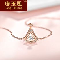 Necklace Natural zircon 1001-3000 yuan Long Yuhuang 18K Rose Gold Necklace + send eternal flower gift box and other customized photos (consult customized customer service) brand new Original design female goods in stock yes Fresh out of the oven 21cm (inclusive) - 50cm (inclusive) no Below 10 cm no