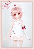 BJD doll zone loose coat 1/4 Over 14 years old Customized Pink complete set, blue complete set, pink basic 4-point set, blue basic 4-point set, additional wing halo set, each suit is limited to 1, additional wing set, each suit is limited to 1 Ookra Doll 1/4