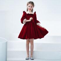 Children's dress MWJJ-21016 female 110cm 120cm 130cm 140cm 150cm 160cm Dream dance Jingjing full dress MWJJ-21016 Class B other Polyester 100% Summer 2021 3 years old, 4 years old, 5 years old, 6 years old, 7 years old, 8 years old, 9 years old, 10 years old, 11 years old, 13 years old, 14 years old
