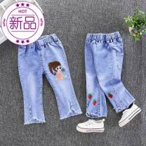 trousers Other / other female 48cm , 80cm , 90cm , 100cm , 110cm , 80, 75 - 80cm [open crotch] , 90, height 80 - 85CM [open crotch] , 100 is 90 - 95 cm , 110, height 100 - 105 cm , 120, 110 - 115 cm spring and autumn trousers leisure time Jeans Denim To be updated 3 months