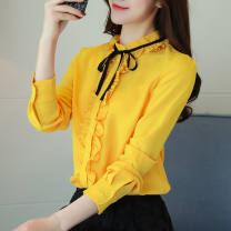 Outdoor casual clothes Tagkita / she and others female sixty-nine point eight zero 801 red, 801 yellow, 801 white, 801 black, 802 pink, 802 white, 802 red, 802 bright yellow, 802 black, 802 earth yellow 51-100 yuan M,L,XL,S,2XL,3XL other Spring of 2018 Long sleeves stand collar routine