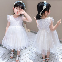 Dress 08 back wing princess skirt picture color female Dalio 80cm 90cm 100cm 110cm 120cm 130cm Other 100% summer Korean version Short sleeve Solid color Netting Cake skirt Summer 2021 12 months, 6 months, 9 months, 18 months, 2 years, 3 years, 4 years, 5 years, 6 years Chinese Mainland Huzhou City