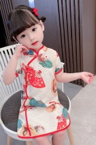 cheongsam 90 100 110 120 130 Other 100% Dalio There are models in the real shooting summer Broken flowers other Summer 2021 12 months 9 months 18 months 2 years 3 years 4 years 5 years 6 years old Chinese Mainland