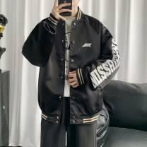 Jacket Other / other Youth fashion W02 black (double), W02 red (double), G01 # solid (intermediate white), G02 # solid (intermediate black), G03 # solid (intermediate white) S,M,L,XL,2XL easy Other leisure Four seasons
