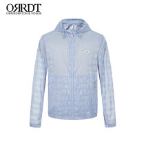Jacket ORRDT Youth fashion Light blue bleaching 46 48 50 52 54 56 58 routine standard Other leisure spring A05C1350 Polyamide fiber (nylon) 100% Long sleeves Wear out Hood Youthful vigor youth routine Zipper placket Closing sleeve Spring 2021 Same model in shopping mall (sold online and offline)