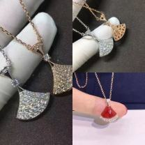 Necklace Silver ornaments 201-300 yuan Other / other brand new Sweet female goods in stock yes Fresh out of the oven 21cm (inclusive) - 50cm (inclusive) yes Below 10 cm Silver inlaid gems 925 Silver other Box chain S0080 925 Silver