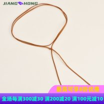 Belt / belt / chain other Apricot, black, brown, beige, coffee female Waist chain Sweet Single loop bow Frosting Other LBQ0195 1cm