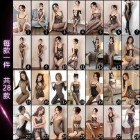 Socks / base socks / silk socks / leg socks female livelong night One size fits all (Hardcover) 1,2,3,4,5,6,7,8,9,10,11,12,13,14,15,16,17,18,20,21,22,23 1 pair Thin money High tube Four seasons sexy other spandex Home Common crotch