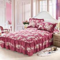 Bed skirt cotton Other / other Plants and flowers Qualified products