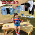 suit luson 25, 26, 27, 28, 29, 30, 31, 32, 33, 80, 90, 100, 110, 120, 130, 140, s, m, l male summer leisure time Sleeveless + pants 2 pieces routine There are models in the real shooting Zipper shirt nothing Cartoon animation other LJHX1117 Other 100%