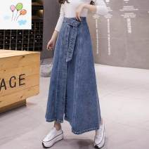 Parent child fashion blue other Female, male Other / other S,M,L,XL,2XL K529296 Solid color Denim 5560# Other 100% 12 months