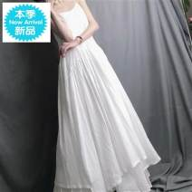 Dress Spring 2020 White, black Average size C4XVb cotton