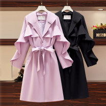 Cosplay women's wear jacket goods in stock Over 14 years old Purple, black comic other Large XL