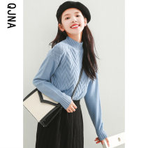 sweater Winter 2020 S M L Pink white green blue black Long sleeves Socket singleton  Regular other 95% and above Half high collar Regular commute routine Solid color Straight cylinder Regular wool Keep warm and warm 18-24 years old Qingjiaona Other 100% Pure e-commerce (online only)