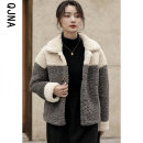 short coat Winter 2020 S M L Grey brown Long sleeves routine routine singleton  Straight cylinder commute routine Doll Collar Ox horn buckle other 18-24 years old Qingjiaona 96% and above Button other Other 100% Pure e-commerce (online only)