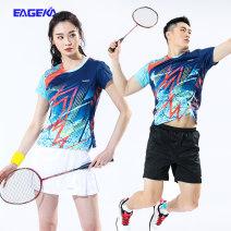 Badminton wear Ekc21798 + ek23102 women's suit, ekc11798 + ek12181 men's suit For men and women S. M, l, XL, XXL, XXXL, larger Eageka / yingerkai Football suit EK27428+EK23291