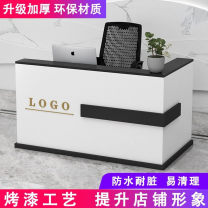 Cashier 340x60x100cm,240x60x100cm,120x60x100cm,100x60x100cm,140x60x100cm,300x60x100cm,280x60x100cm,160x60x100cm,260x60x100cm,180x60x100cm,320x60x100cm,200x60x100cm,150x60x100cm,220x60x100cm Disassembly manmade board Simple and modern Brand logo Box frame structure Particleboard / melamine board