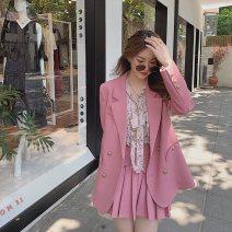 Fashion suit Autumn 2020 XS S M L XL 91% (inclusive) - 95% (inclusive) cotton Other 100% Pure e-commerce (online only)