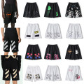 Casual pants Others Youth fashion M,L,XL,2XL routine Shorts (up to knee) Other leisure Straight cylinder Micro bomb summer teenagers 2021 middle-waisted Straight cylinder Sports pants printing cotton cotton 90% (inclusive) - 95% (inclusive)