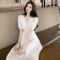 Cosplay women's wear Other women's wear goods in stock Over 14 years old White lace dress comic Average size Other See description M suggest 95-105 kg