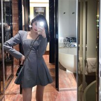 Latin top female other S,M,L,XL,XXL Gray, black Long sleeves