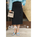 skirt Spring 2021 The sky is blue, Brown is black Mid length dress commute low-waisted Suit skirt Solid color 25-29 years old PM21030680 30% and below other plusmall Simplicity