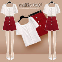 Badminton wear Top + skirt two-piece set, top piece, skirt piece, collection plus purchase priority delivery female M,L,XL,120,125,130 other