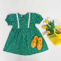 Outdoor casual clothes Tagkita / she and others female sixty-nine point nine four Yellow, green, collection plus purchase priority delivery Under 50 yuan 3 # height 80-90, 5 # height 100-110, 7 # height 120-130, 9 # height 140-150 other Short sleeve the republic of korea