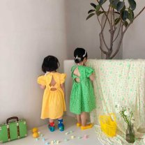 Outdoor casual clothes Tagkita / she and others female sixty-nine point nine four Yellow, green, collection plus purchase priority delivery Under 50 yuan 3 # height 80-90, 5 # height 100-110, 7 # height 120-130, 9 # height 140-150 other Short sleeve summer the republic of korea