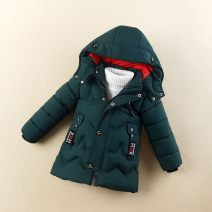 Cotton padded jacket female No detachable cap other Other / other Dark green, black, red The recommended height is 90 100cm for 110, 100 110cm for 120, 110 120cm for 130, 120 130cm for 140 and 130 140cm for 150 Three months, six months