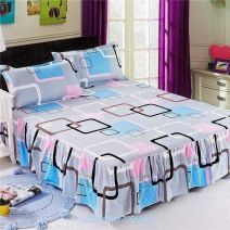 Bed skirt 120x200cm single bed skirt, 150x200cm single bed skirt, 180x200cm single bed skirt, 180x220cm single bed skirt, 200x220cm single bed skirt, 100x200cm single bed skirt polyester fiber Other / other Others Qualified products D3763