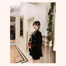 Ski suit one hundred and sixty-nine point nine eight female 51-100 yuan Black coat + suspender skirt, collection plus purchase priority delivery S,M,L,XL Autumn of 2019