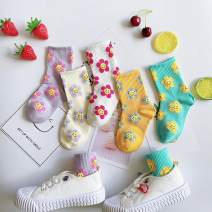 Children's socks (0-16 years old) Medium socks Other / other spring and autumn neutral Class B L Korean version