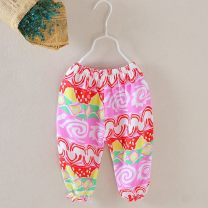 trousers Other / other female 80cm,90cm,100cm,110cm,120cm Rainbow candy bloomers, yellow bottomed red bloomers, pink bear bloomers, Teletubbies, orange rose bloomers, and Mingzu wind bloomers Ninth pants Combat trousers 3 months