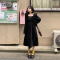 Dress Winter of 2019 black Average size Other / other