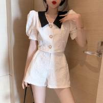 Golf apparel Small white coat, small black coat, white shorts, black shorts, collection plus purchase priority delivery Average size, s, M female other shorts