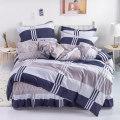Bedding Set / four piece set / multi piece set cotton Quilting Plants and flowers 128x68 Andot cotton cotton 4 pieces 40 Bedskirt bedspread 100% cotton ADM-0AYOP