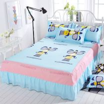 Bed skirt Acetate fiber Other / other Plants and flowers Qualified products s888888