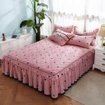 Bed skirt cotton Gejue, flower whispering purple, flower dream love, flower hope dream, beauty style, Roy, avocado, thousand and thousand seek, gentle and good language, falling in love with stamens, dessert diary, dance rhyme, Oriental, wish powder, wish blue, Aesop Fairy feather Geometric pattern