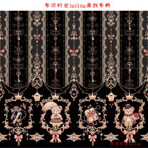 Fabric / fabric / handmade DIY fabric chemical fiber Black spot, dark blue and the last batch a little color difference, light yellow and the last batch a little color difference Loose shear piece Cartoon animation printing and dyeing clothing Others Other / other Jiangsu Province Suzhou